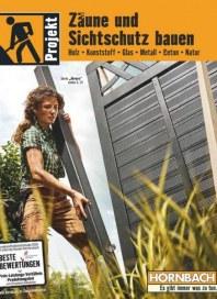 Hornbach Hornbach (Zaune und Sichtschutz Bauen) März 2019 KW10