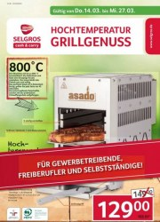 Selgros Selgros (Grillgenuss) März 2019 KW11