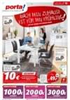 Porta Möbel Porta (Jetzt bis zu 3000 € sparen – mit unseren Frühlingsgutscheinen - 13.03.2019 - 19.0