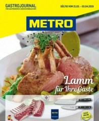Metro Cash & Carry Metro (GastroJournal 21.03.2019 - 03.04.2019) März 2019 KW12