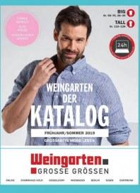 Weingarten Herren BASIC-GROSSE GRÖSSEN Prospekt März 2019 KW12