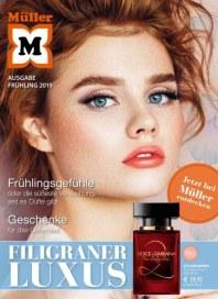 Müller Mueller (Luxus Flyer (Ausgabe Frühling 2019)) März 2019 KW13