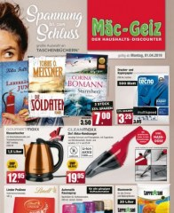 Mäc-Geiz Mäc Geiz (weekly) April 2019 KW14