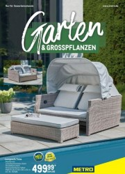 Metro Cash & Carry Metro (Garten & Großpflanzen 04.04.2019 - 30.04.2019) April 2019 KW14