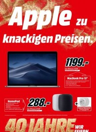 MediaMarkt MediaMarkt national (Apple zu knackigen Preisen) April 2019 KW14