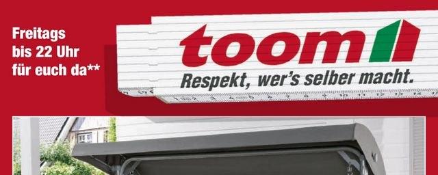 toom Baumarkt TOOM Baumarkt (KW15) April 2019 KW14 1