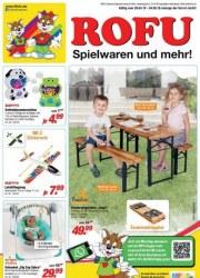 Rofu Kinderland Spielwaren und mehr April 2019 KW18
