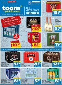 Toom Getränke TOOM GM (2 Weekly) März 2019 KW12 2