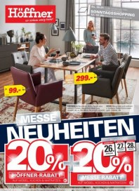 Höffner Höffner (Neuheiten 20%) Januar 2020 KW04 3