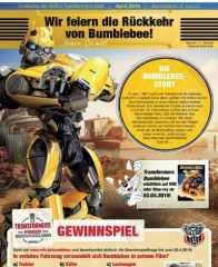 Rofu Kinderland Transformers Special April 2019 KW14