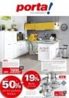 Porta Möbel Porta (Jetzt bis zu 50% auf frei geplante Küchen + 19 % MwSt. geschenkt - 01.02.2020 - 1