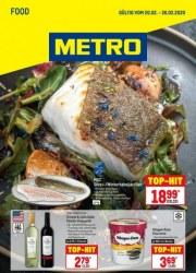 Metro Cash & Carry Metro (Food 20.02.2020 - 26.02.2020) Februar 2020 KW08