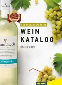 Metro Cash & Carry Metro (Weinkatalog für Wiederverkäufer) Februar 2020 KW07