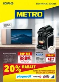 Metro Cash & Carry Metro (NonFood 05.03.2020 - 11.03.2020) März 2020 KW10