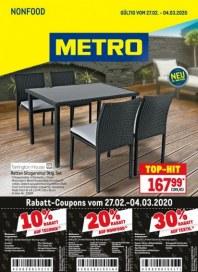 Metro Cash & Carry Metro (NonFood 27.02.2020 - 04.03.2020) Februar 2020 KW09