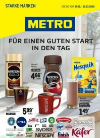 Metro Cash & Carry Metro (Starke Marken 27.02.2020 - 11.03.2020) Februar 2020 KW09