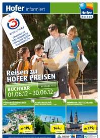 Hofer Hofer Reisen Juni 2012 Juni 2012 KW22
