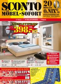 Sconto SCONTO - Möbel-Sofort Juli 2012 KW27