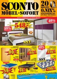 Sconto SCONTO - Möbel-Sofort Juli 2012 KW29 1