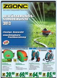 ZGONC Handel GmbH Bewässerungssonderliste 2012 Juli 2012 KW31