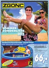 ZGONC Handel GmbH Sommersonderliste 2012 Juli 2012 KW31