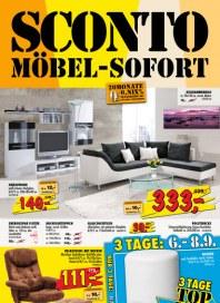 Sconto SCONTO - Möbel-Sofort August 2012 KW35