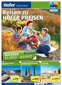 Hofer Hofer Reisen September 2012 September 2012 KW35