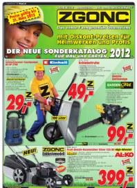 ZGONC Handel GmbH Bau und Garten 2012 September 2012 KW36