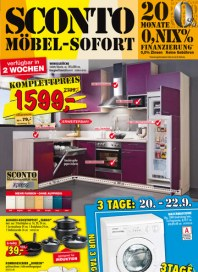 Sconto SCONTO - Möbel-Sofort September 2012 KW37