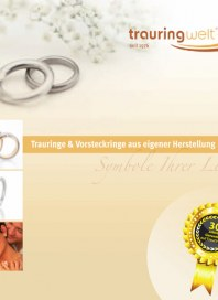 Prospekte Trauringe, Vorsteckringe & Ringe zum Heiratsantrag Oktober 2012 KW40