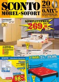 Sconto SCONTO - Möbel-Sofort September 2012 KW39 1