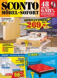Sconto SCONTO - Möbel-Sofort September 2012 KW39 2