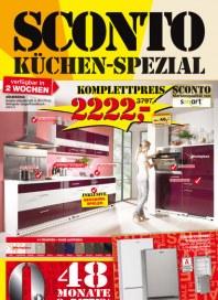 Sconto Küchen-Spezial Oktober 2012 KW40