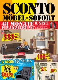 Sconto SCONTO - Möbel-Sofort Oktober 2012 KW41