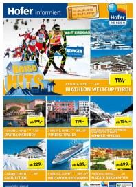 Hofer Hofer Reisen - Reisehits KW 43 Oktober 2012 KW43