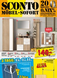 Sconto SCONTO - Möbel-Sofort November 2012 KW45