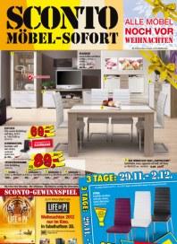 Sconto SCONTO - Möbel-Sofort November 2012 KW47 1