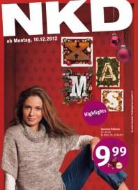 NKD Angebote KW 50 Dezember 2012 KW50
