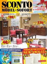Sconto SCONTO - Möbel-Sofort Dezember 2012 KW49