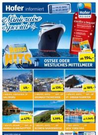 Hofer Hofer Reisen - Reisehits KW 51 Dezember 2012 KW51