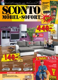 Sconto SCONTO - Möbel-Sofort Dezember 2012 KW52 1