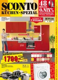Sconto SCONTO - Küchen-Spezial Januar 2013 KW02