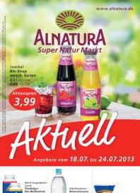 Alnatura Alnatura Prospekt KW29 Juli 2013 KW29