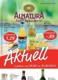 Alnatura Alnatura Prospekt KW30 Juli 2013 KW30