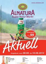 Alnatura Alnatura Prospekt KW32 August 2013 KW32