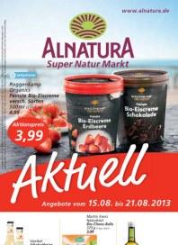 Alnatura Alnatura Prospekt KW33 August 2013 KW33