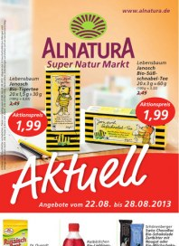 Alnatura Alnatura Prospekt KW34 August 2013 KW34