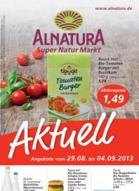 Alnatura Alnatura Prospekt KW35 August 2013 KW35