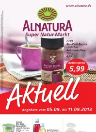 Alnatura Alnatura Prospekt KW36 September 2013 KW36