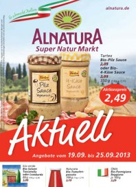 Alnatura Alnatura Prospekt KW38 September 2013 KW38